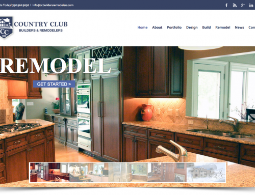 Charene Creative Launches New Brand Campaign and Website for Country Club Builders & Remodelers
