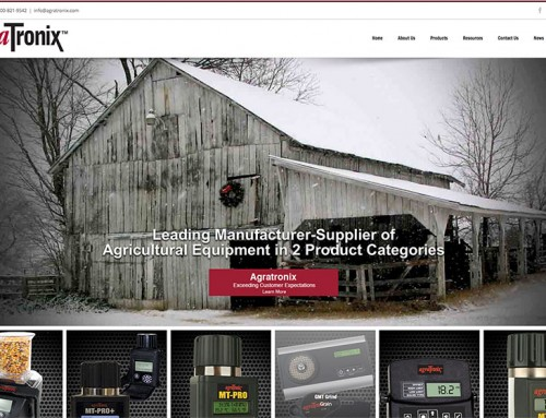 Charene Creative Presents New Website for AgraTronix