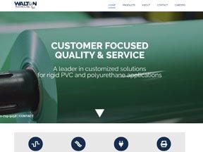 Walton Plastics website
