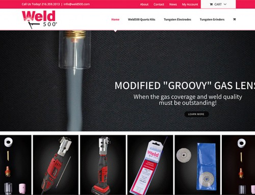 Announcing the Launch of a New eCommerce Website for Weld500