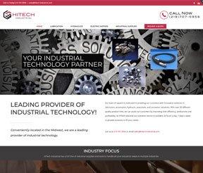 HiTech Industrial website