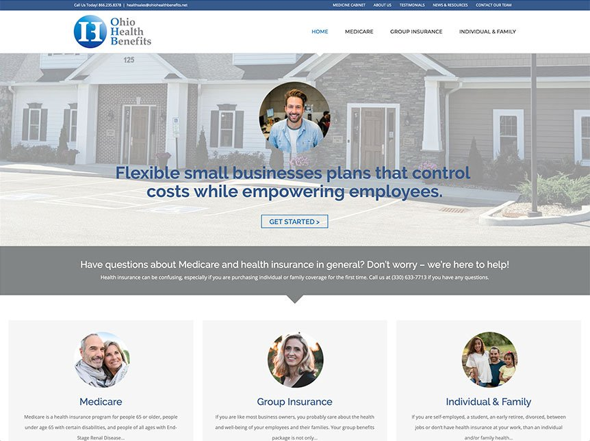 NEW CLIENT WEBSITE LAUNCH: OHIO HEALTH BENEFITS