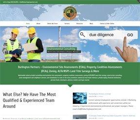 The Burlington Partners website