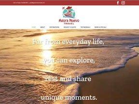 Agora Nuevo Travel Website