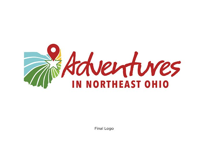 Introducing Adventures in Northeast Ohio New Brand Identity