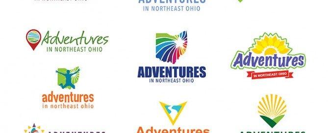 Adventures in Northeast Ohio logo ideas